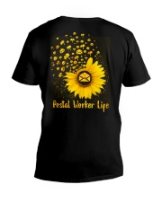 Sunflower Postal Worker V-Neck T-Shirt thumbnail