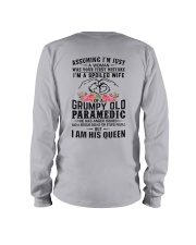 Paramedic's Wife: I am his Queen Long Sleeve Tee thumbnail
