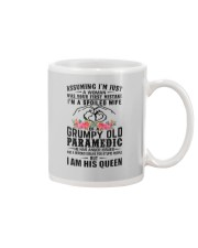 Paramedic's Wife: I am his Queen Mug tile