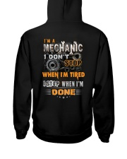 Mechanic: I don't stop when I'm tired  Hooded Sweatshirt thumbnail