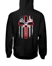 Proud American Machinist Flag Hooded Sweatshirt thumbnail