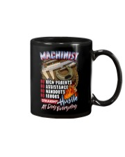 Machinist: Straight hustle all day every day Mug tile