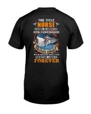 The Title Nurse Own it Forever Classic T-Shirt thumbnail