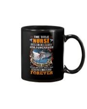 The Title Nurse Own it Forever Mug thumbnail