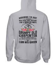 Carpenter's Wife: I am his Queen Hooded Sweatshirt thumbnail