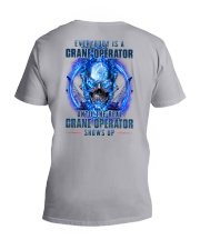 Until the real Crane Operator shows up V-Neck T-Shirt thumbnail
