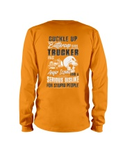 Trucker: Serious dislike for Stupidity Long Sleeve Tee thumbnail