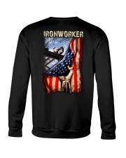 Ironworker US Flag Crewneck Sweatshirt thumbnail