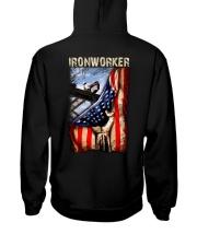 Ironworker US Flag Hooded Sweatshirt thumbnail