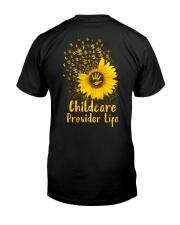 Sunflower Childcare Provider Classic T-Shirt tile