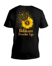 Sunflower Childcare Provider V-Neck T-Shirt tile