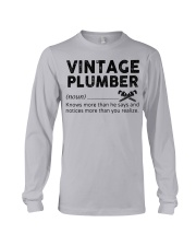Vintage Plumber Long Sleeve Tee thumbnail