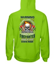 Sarcastic Firefighter Hooded Sweatshirt thumbnail