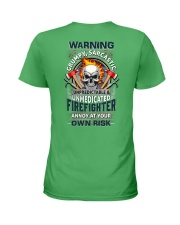 Sarcastic Firefighter Ladies T-Shirt thumbnail