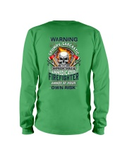 Sarcastic Firefighter Long Sleeve Tee thumbnail