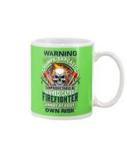 Sarcastic Firefighter Mug tile