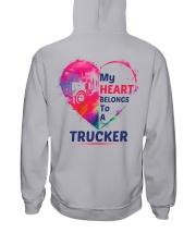 My heart belongs to my Trucker Hooded Sweatshirt tile