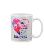 My heart belongs to my Trucker Mug tile