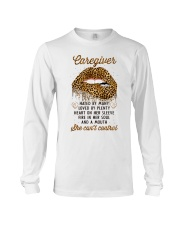Caregiver: Mouth I can't control Long Sleeve Tee thumbnail