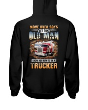 Let this Old Man show you How to be a Trucker Hooded Sweatshirt thumbnail