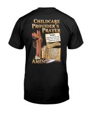 Childcare Provider's Prayer Classic T-Shirt back