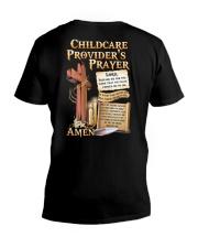 Childcare Provider's Prayer V-Neck T-Shirt tile