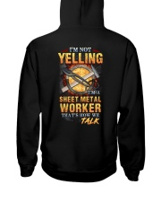 Sheet Metal Worker is not Yelling Hooded Sweatshirt thumbnail