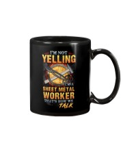 Sheet Metal Worker is not Yelling Mug tile