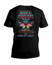 Medical Assistants are wonderful sassy crazy V-Neck T-Shirt thumbnail