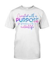 Vet Tech Created with a Purpose Classic T-Shirt thumbnail