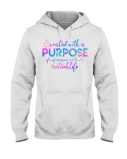 Vet Tech Created with a Purpose Hooded Sweatshirt thumbnail