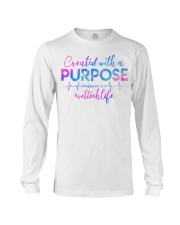Vet Tech Created with a Purpose Long Sleeve Tee thumbnail