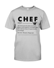 Chef dictionary Classic T-Shirt front
