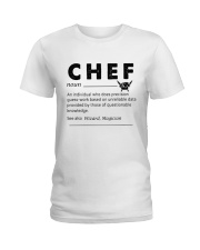 Chef dictionary Ladies T-Shirt thumbnail