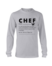 Chef dictionary Long Sleeve Tee thumbnail