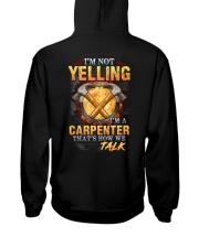I am not yelling that's how Carpenter's talk Hooded Sweatshirt thumbnail