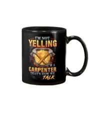 I am not yelling that's how Carpenter's talk Mug thumbnail
