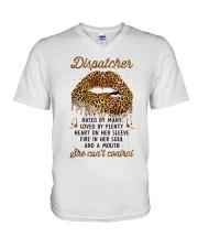 Awesome Dispatcher V-Neck T-Shirt tile