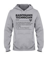 maintenance Technician dictionary Hooded Sweatshirt tile