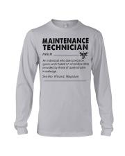 maintenance Technician dictionary Long Sleeve Tee tile