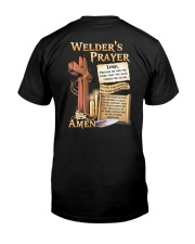 Welder's Prayer Classic T-Shirt back