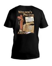 Welder's Prayer V-Neck T-Shirt tile