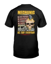 Mechanic: Straight hustle all day every day Classic T-Shirt thumbnail