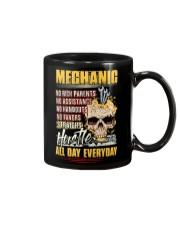 Mechanic: Straight hustle all day every day Mug tile