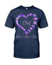 Peace Love Chef Classic T-Shirt front