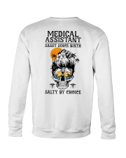 Medical Assistant Salty by Choice Crewneck Sweatshirt thumbnail