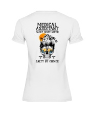 Medical Assistant Salty by Choice Premium Fit Ladies Tee thumbnail