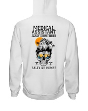 Medical Assistant Salty by Choice Hooded Sweatshirt thumbnail