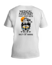 Medical Assistant Salty by Choice V-Neck T-Shirt thumbnail