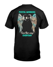 Postal Workers earn their wings everyday Classic T-Shirt back